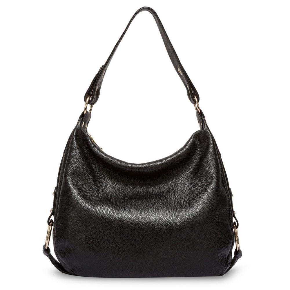 Luxury Genuine Leather Hobo Crossbody Messenger Bag – Vibe Handbags 20f81d6777002